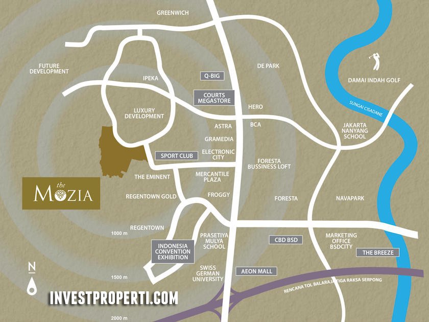 The Mozia BSD Map Location
