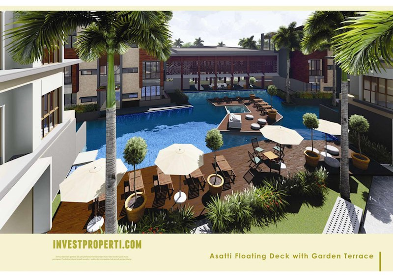 Asatti BSD City Floating Deck