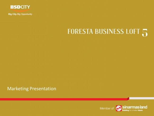 Foresta Business Loft 5 Brochure