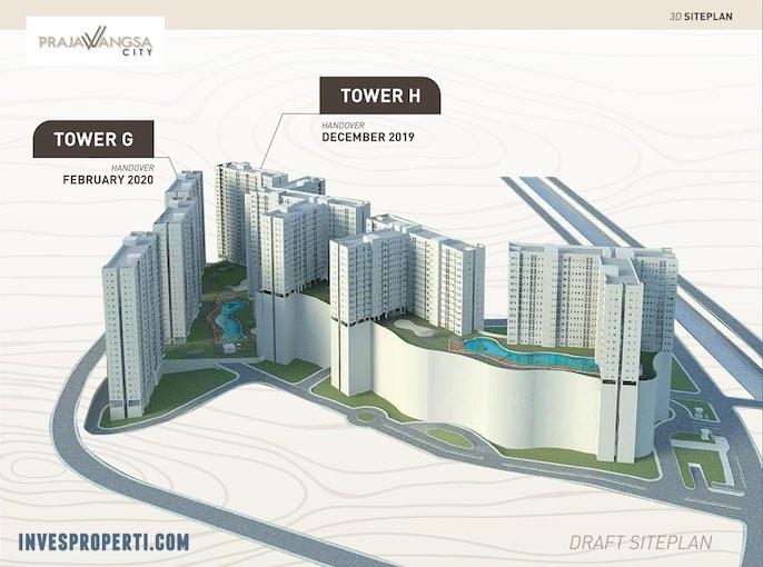 Prajawangsa City Jakarta 3D Building
