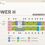 Floor Plan Tower H Apartemen Prajawangsa City