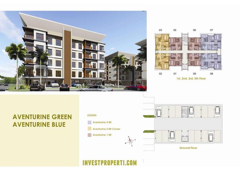 Unit Apartemen Aventurine Vanya Park BSD
