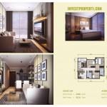 Apartemen Agate Aventurine 3BR Loft