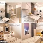 Interior Design Apartemen Prajawangsa