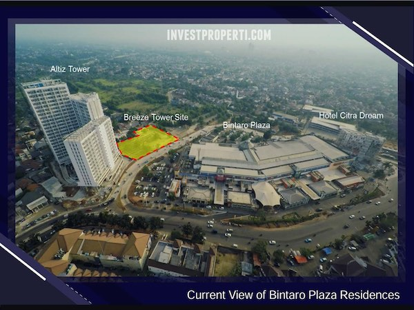 Progress Pembangunan Bintaro Plaza