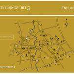 Lokasi Foresta Business Loft 5