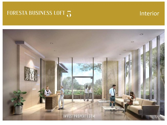 Foresta Busines Loft BSD Interior Design