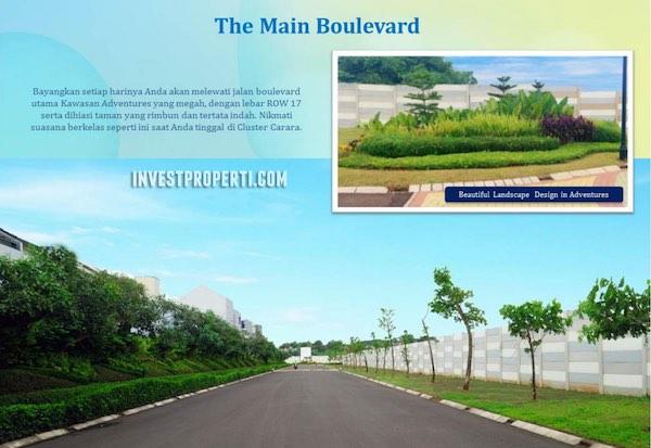 Paradise Serpong City Boulevard