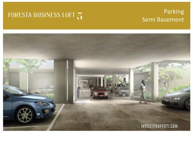 Foresta Busines Loft Parking