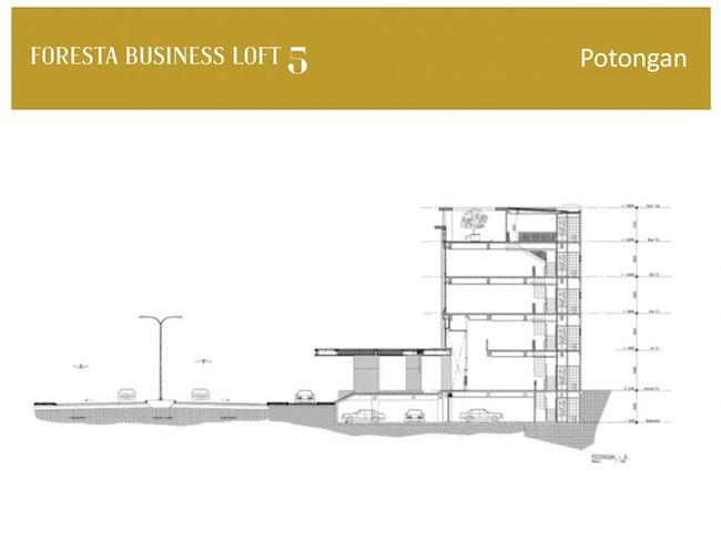 Foresta Business Loft Building Plan