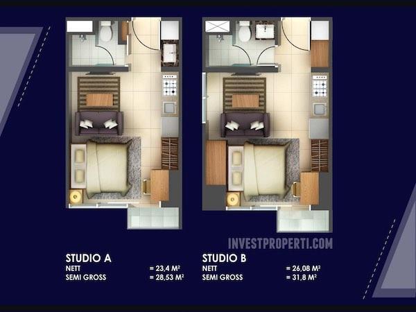 Tipe Studio A & B