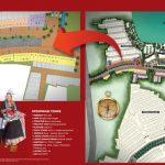 Site Plan Ruko Solvang Square Serpong