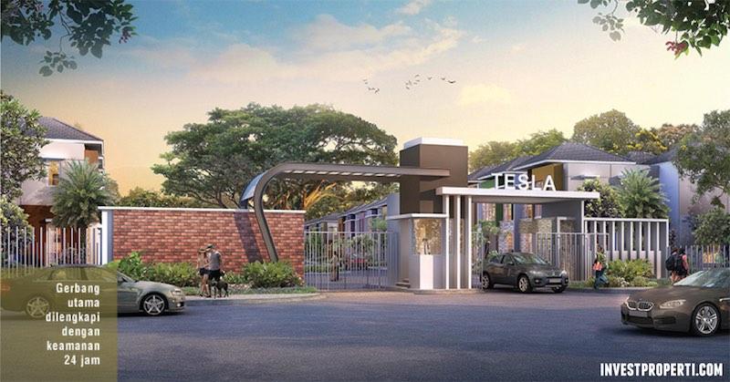 Gate Cluster Tesla Serpong