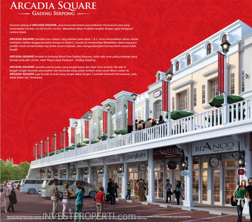 Arkadia Square Gading Serpong