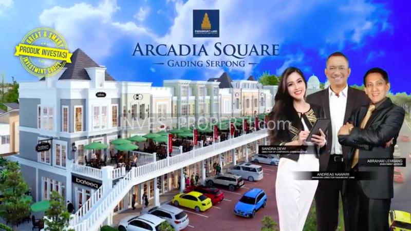 Brosur Arcadia Square Gading Serpong