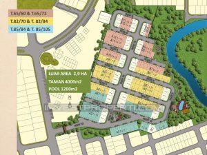 Master Plan Kireina Park Cluster Bsd