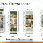 Site Plan Townhouse Emerald Cove