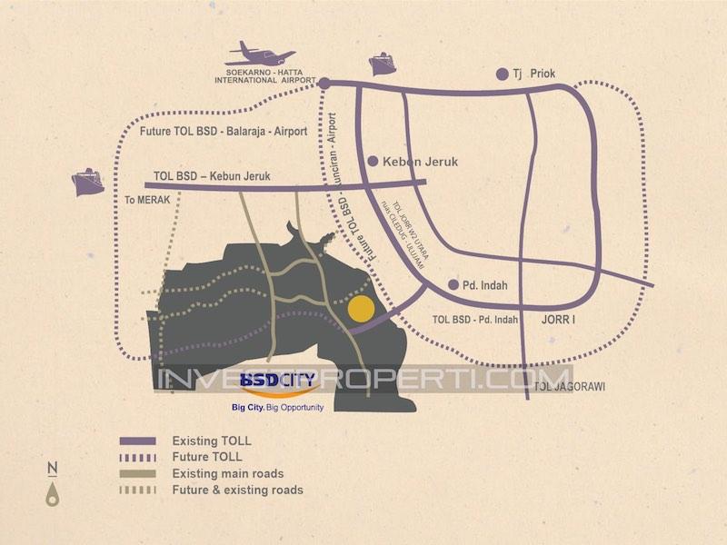 Peta Lokasi Kireina Park