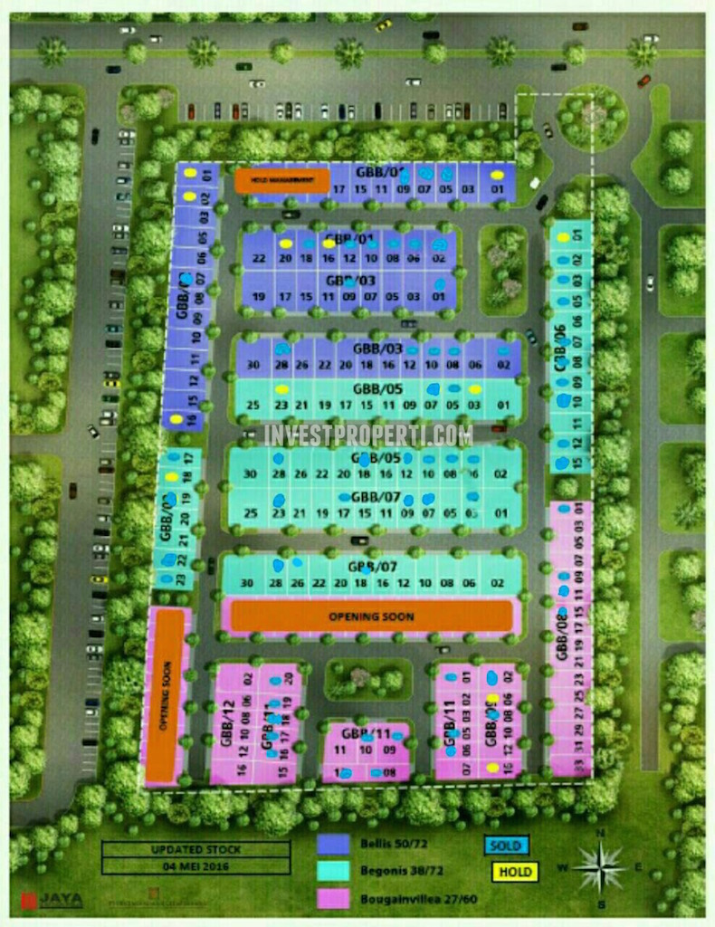 Site Plan Grand Batavia Tahap 3