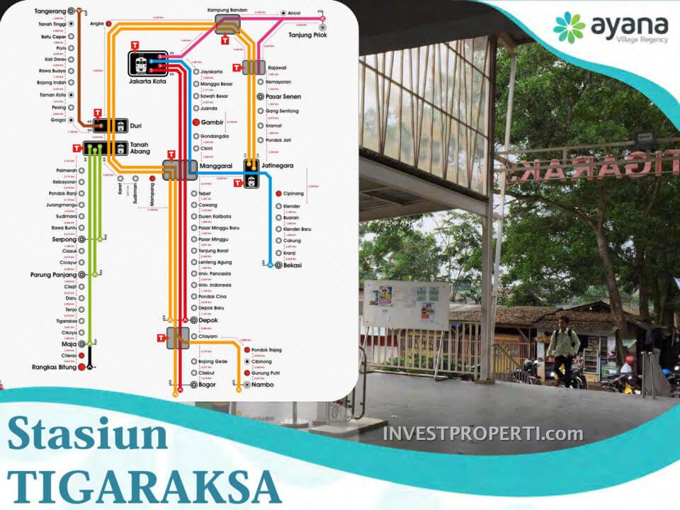 Ayana Village Cluster Dkt Stasiun Tigaraksa