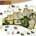 Site Plan Villa Ubud Anyer