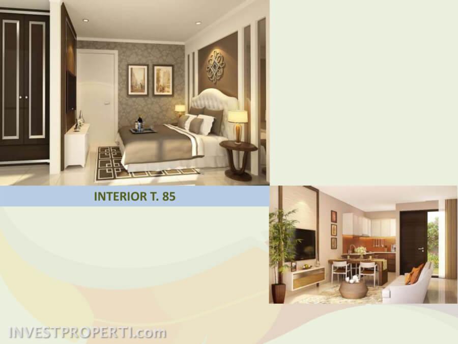 Contoh Interior Design Tipe 85
