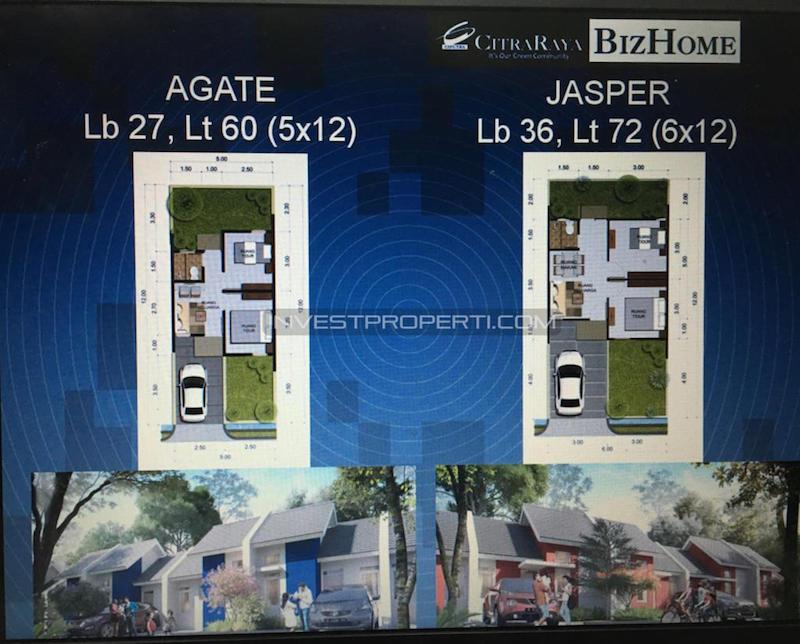 Tipe Rumah BizHome CitraRaya
