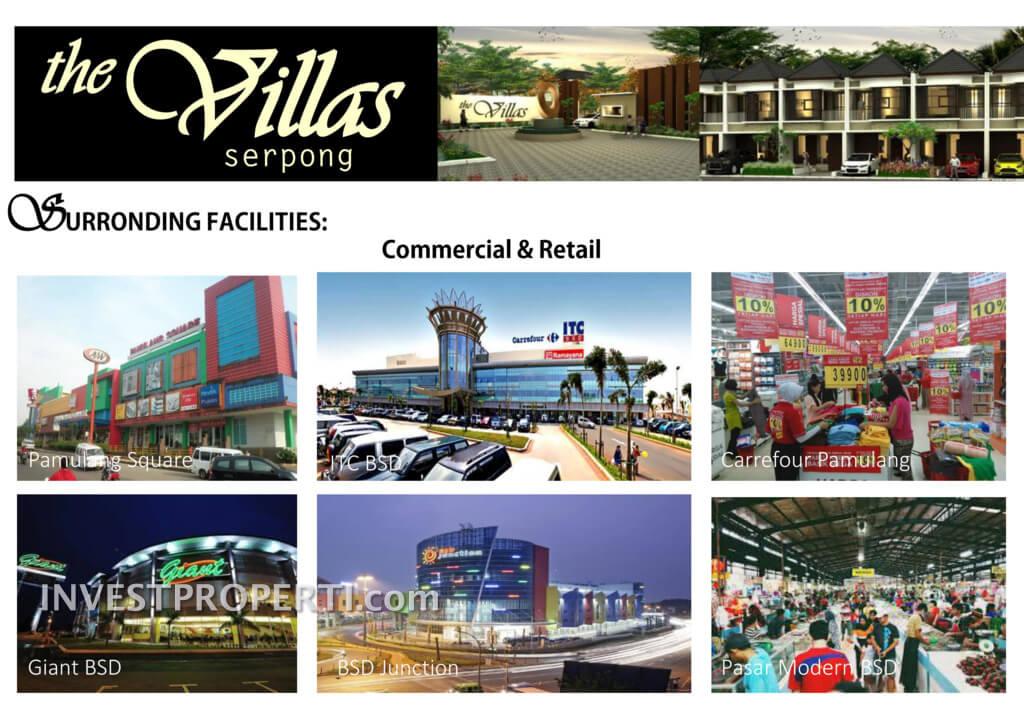 Commercial Facilities the Villas Serpong