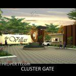 Gate Cluster The Villas Serpong