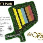 Site Plan the Villas Serpong