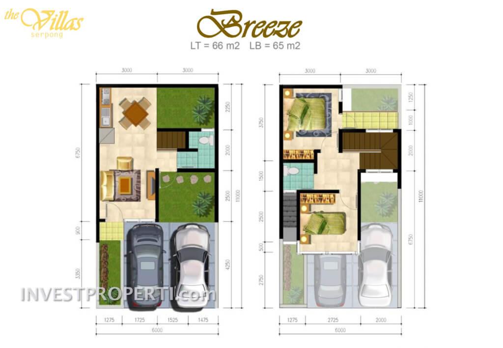 the Villas Serpong - Breeze Type