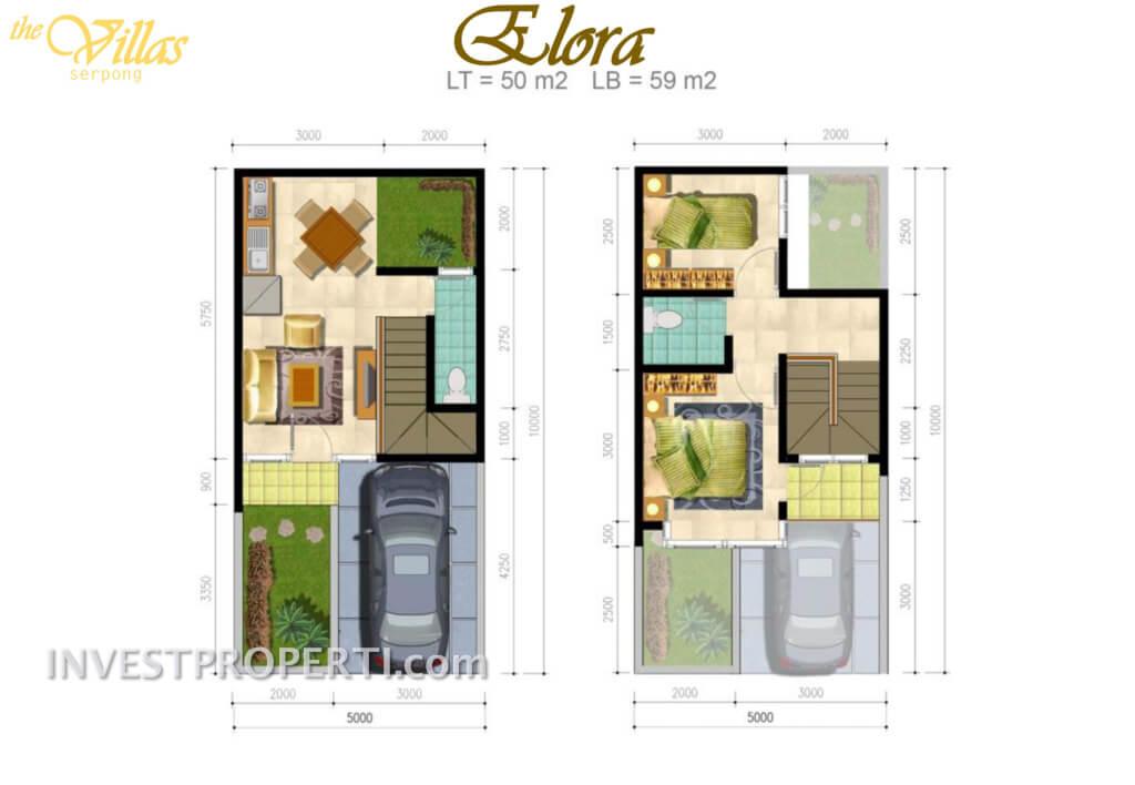 the Villas Serpong - Elora Type