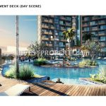 Cambio Lofts Alam Sutera Swimming Pool