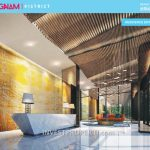 Gangnam District Bekasi Apartment Lobby