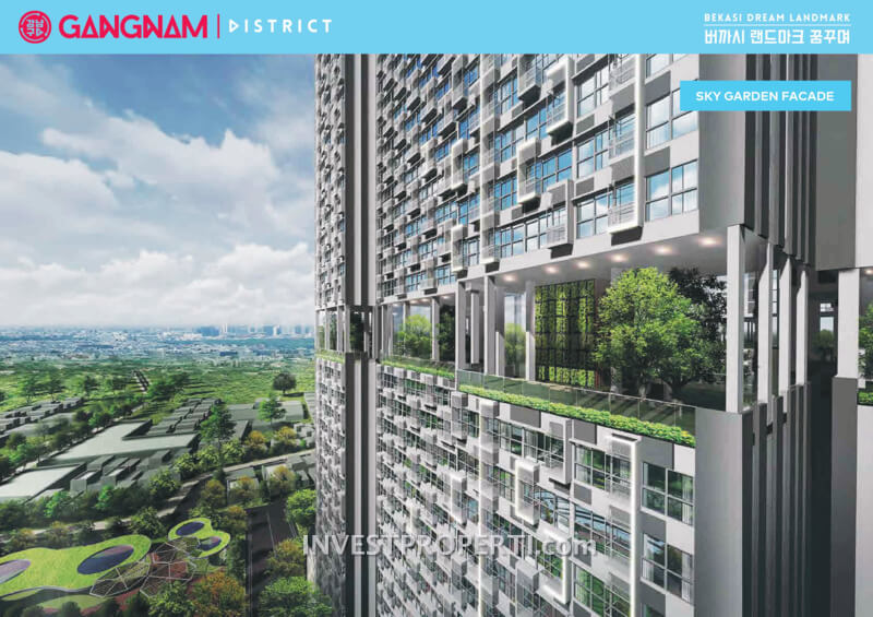Gangnam District Bekasi Sky Garden