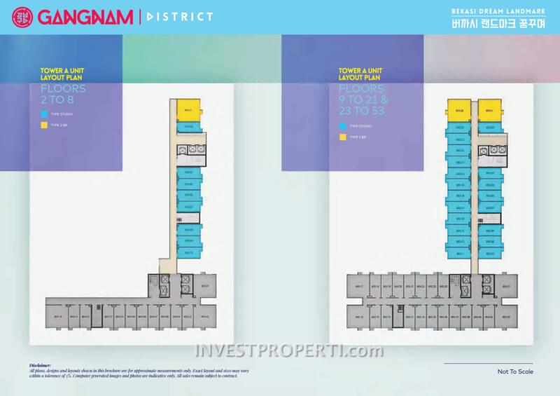 Gangnam District Bekasi Apartment Floor Plan