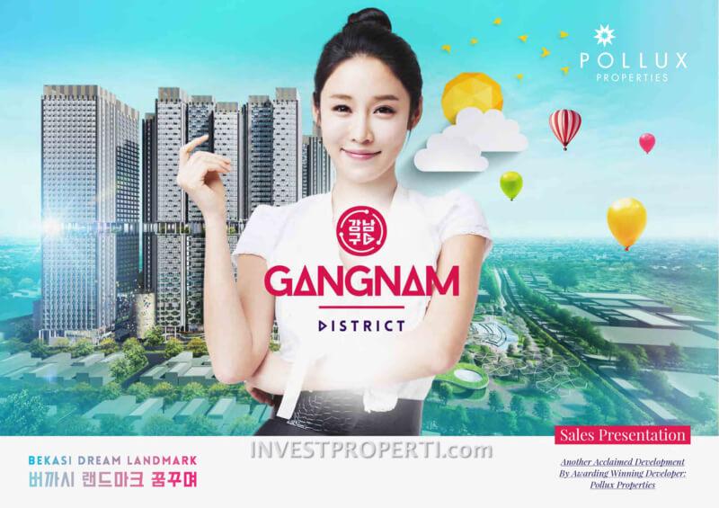 Gangnam District Bekasi Brochure