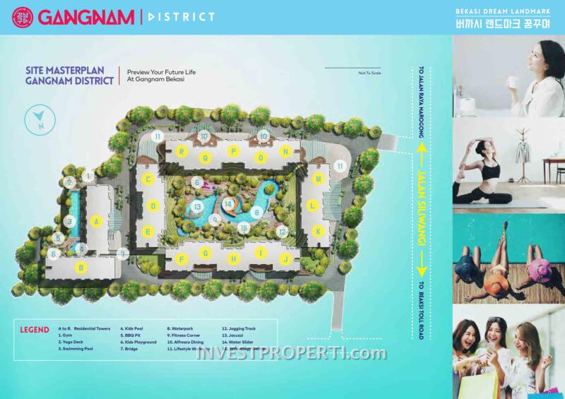 Gangnam District Bekasi Site Plan