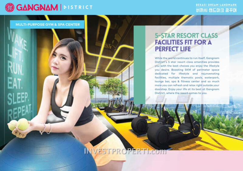 Gangnam District Bekasi Resort Lifestyle