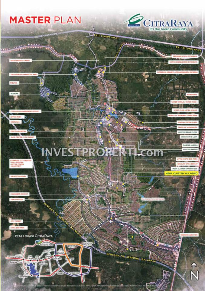 Master Plan Citra Raya Tangerang