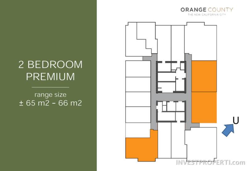 2BR Premium FloorPlan