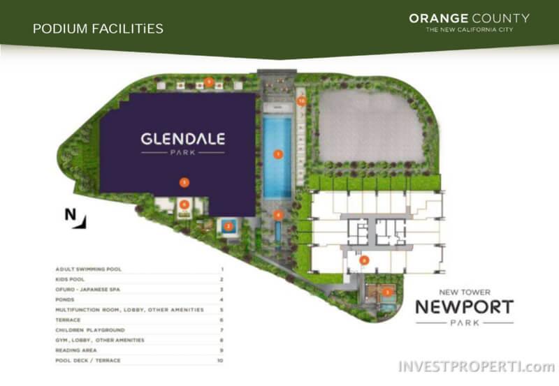 Siteplan Newport Park Orange County