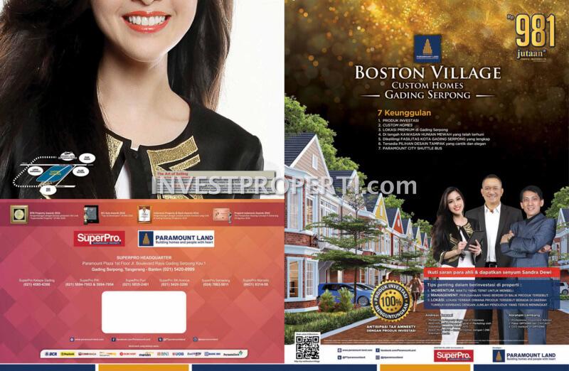 Boston Village Gading Serpong Brochure