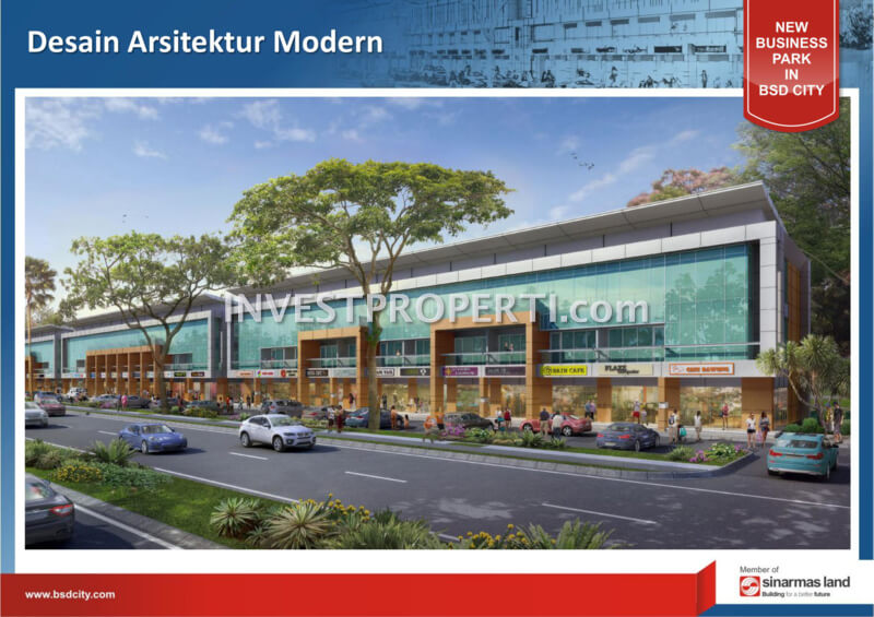 Arsitektur The ICON Business Park BSD City