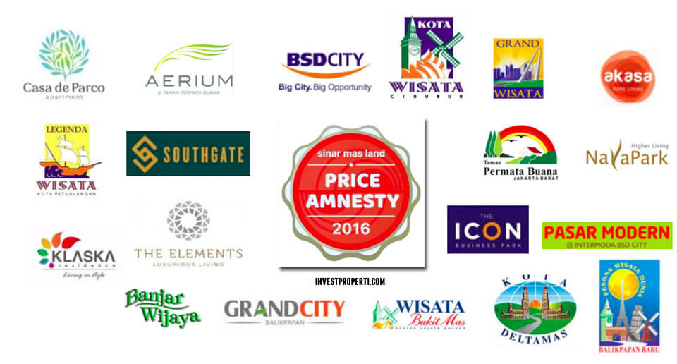 Sinarmas Land Price Amnesty Program 2016