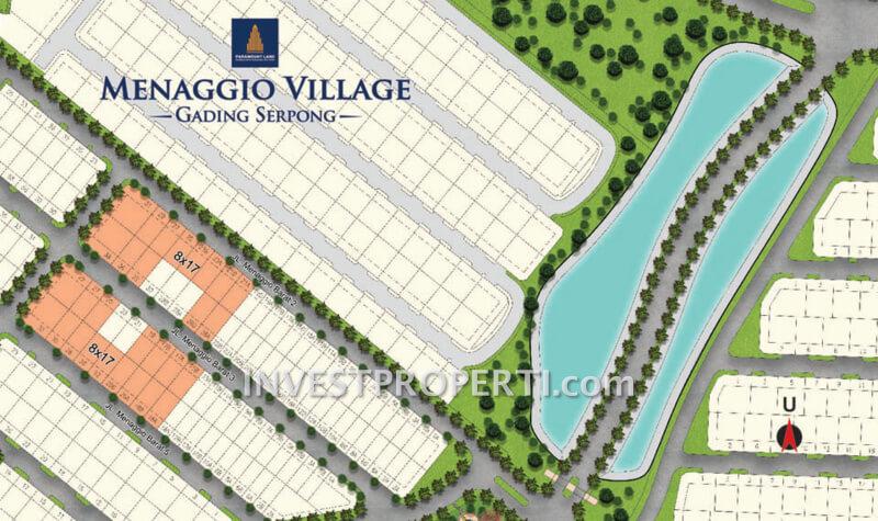 Site Plan Kavling Menaggio Village Gading Serpong