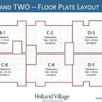Apartemen Holland Village Two Floor Plan