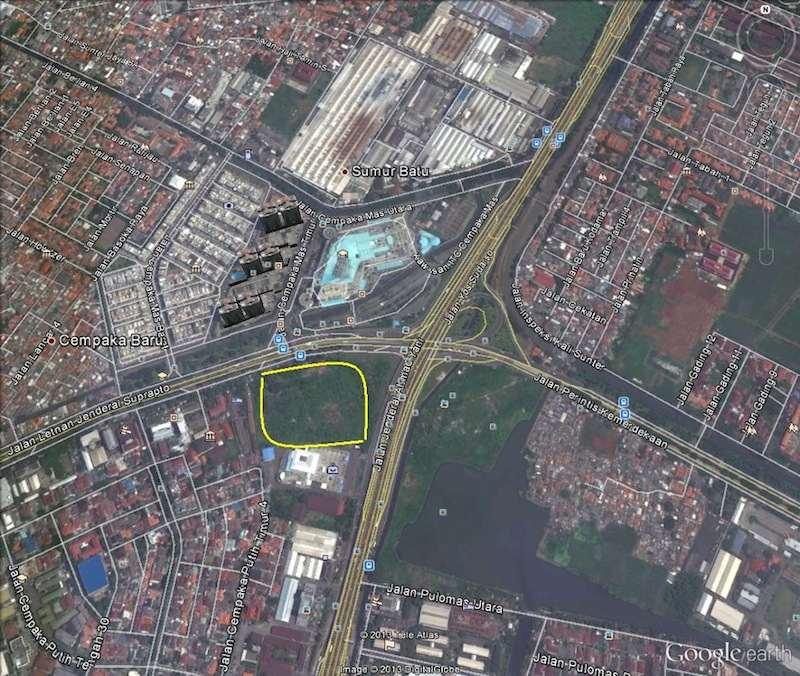 Google Map Holland Village Apartemen