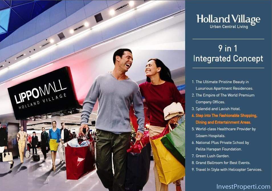 Holland Village Apartemen brosur-11