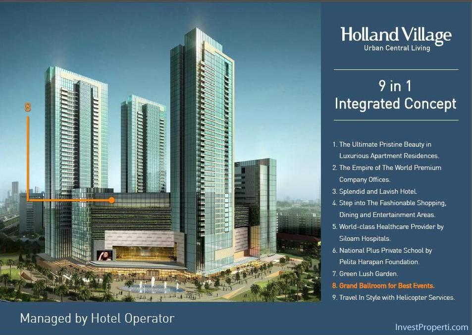 Holland Village Apartemen brosur-19
